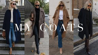 My Autumn Winter Coats Wardrobe