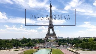 Sigala, Ella Eyre - Came Here For Love - Travel Montage (Paris/Geneva)
