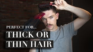 Why Every Guy Should Own A Sea Salt Spray | Men's Hair How To ad