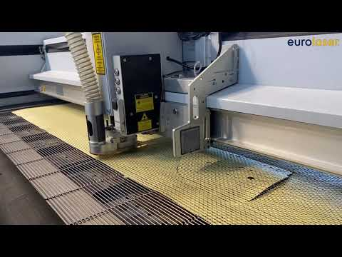 Laser cutting of thermoplastic prepregs | Laserschneiden von thermoplastischen Prepregs