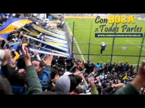 """""""Antes que te vayas al descenso + GOL / Gimnasia vs Boca Jrs - Clausura 2011"""" Barra: La 12 • Club: Boca Juniors • País: Argentina"""