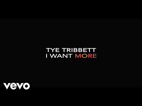 I Want More (Lyric Video/Live)