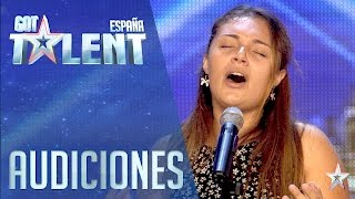 A soprano has been born | Auditions 3 | Spain's Got Talent 2016