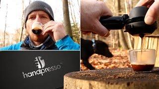 Handpresso - Espresso Maker Review - Unboxed and Outdoor Demo