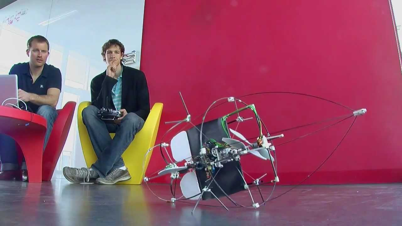 Designing A Dumb Flying Robot That Can Safely Crash Is Easier And Cheaper