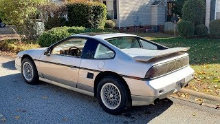 1987 Fiero GT Project Sat for 15 years Part 1