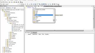 MS SQL Server Management Studio - Insert Update Delete Query Tutorial
