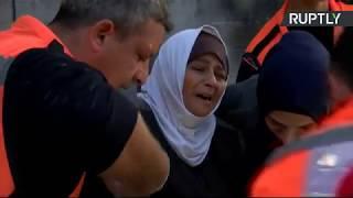 Протесты палестинцев в Иерусалиме против заявления Трампа