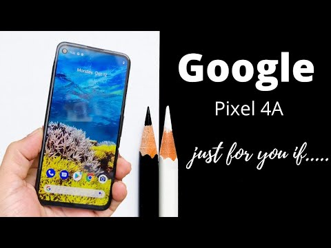 Google Pixel 4a first impression
