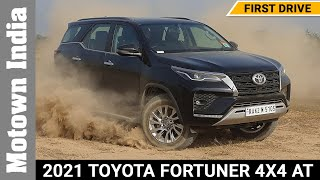 2021 Toyota Fortuner 4X4 AT review | First drive | Motown India