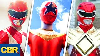 Power Rangers: Who Is The Best Red Ranger?