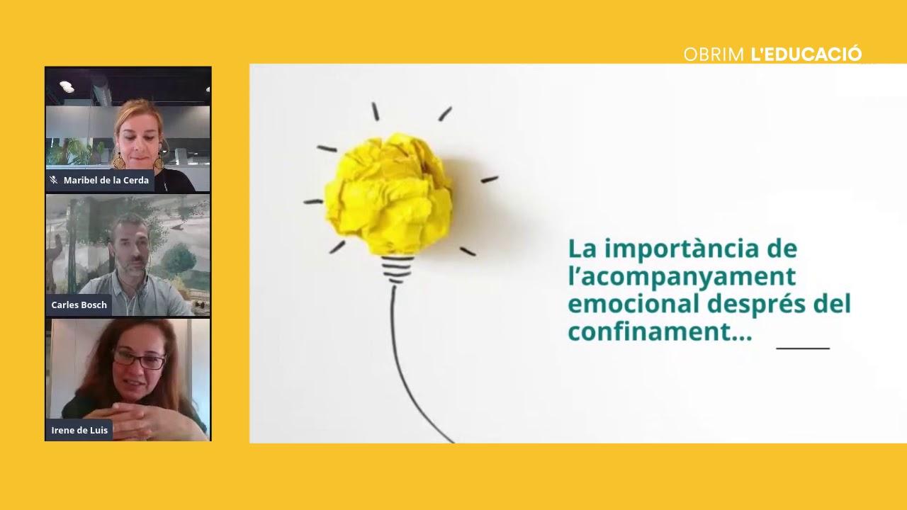 Com aprofitar el context per teixir vincles i fer reforç emocional? Amb l'equip Komtü.