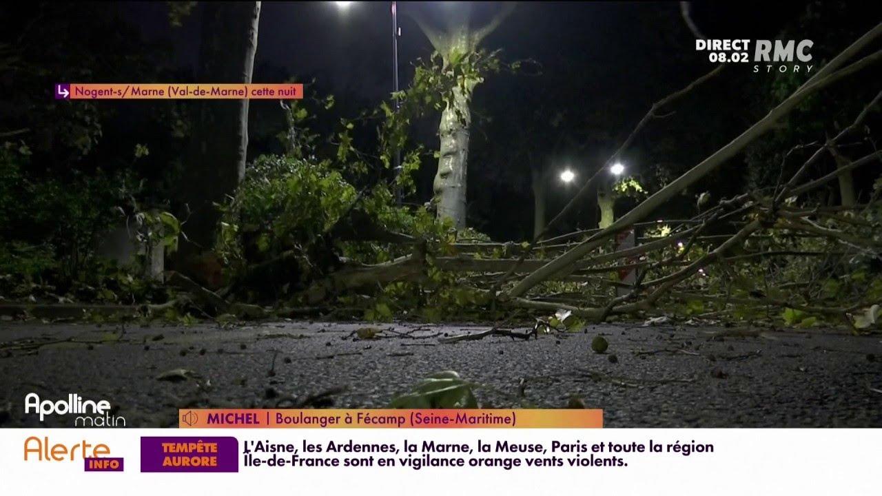 Tempête Aurore: record absolu à Fécamp où le vent a soufflé à 175km/h
