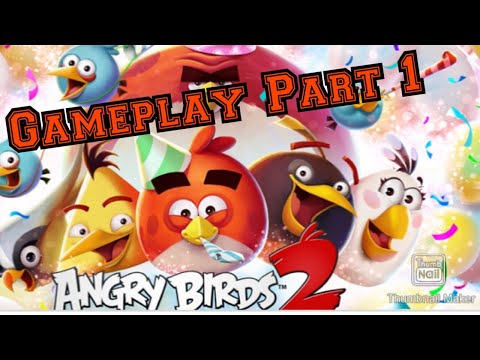 DESTROYING PIGS WITH NEW ABILITIES!! Angry Birds 2 Part 1