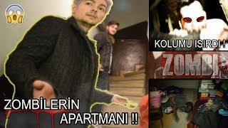 ZOMBİLERİN APARTMANINA GİTTİM !! (ZOMBİ KOLUMU ISIRDI) !!