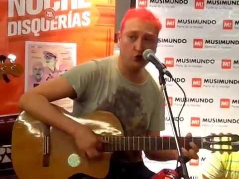 Leo García - Romance - La noche de las disquerías 2014 - Musimundo - 6.11.2014