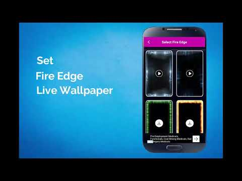 Borderlight Live Wallpaper - Magical Edge Lite Android