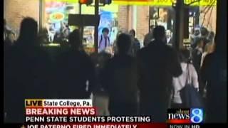 Penn State ousts Joe Paterno, president