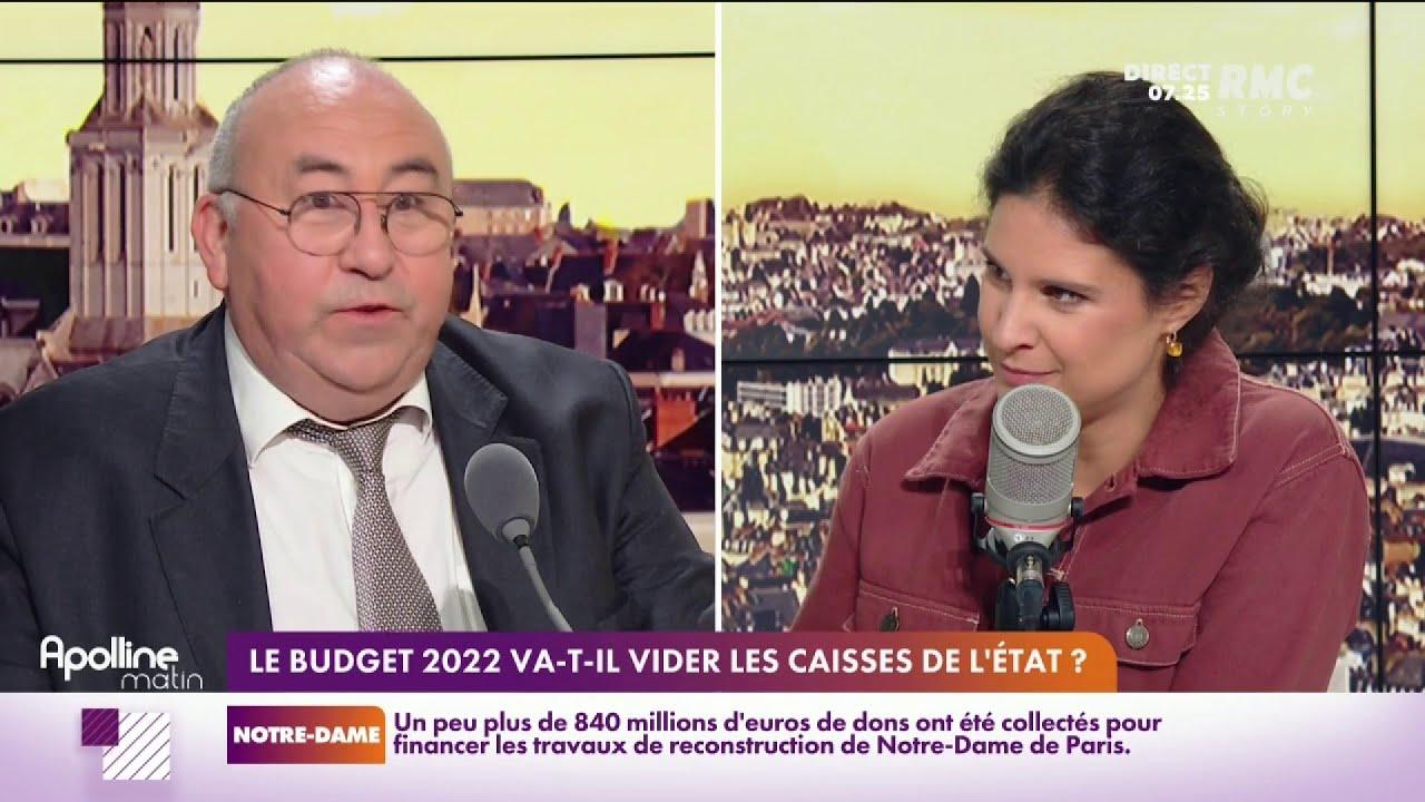 Emmanuel Lechypre a passé sa nuit a décortiqué le budget 2022