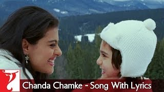 Lyrical: Chanda Chamke Song with Lyrics | Fanaa | Aamir