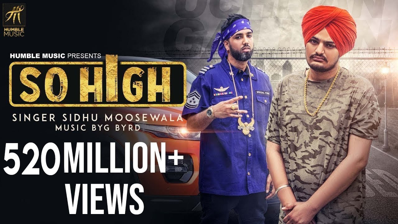 SO HIGH LYRICS - Sidhu Moose Wala