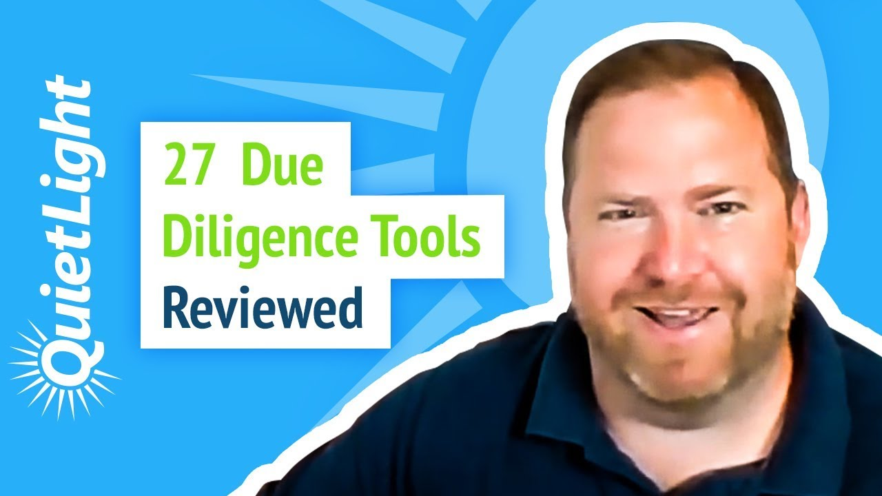 27 Due Diligence Tools Reviewed