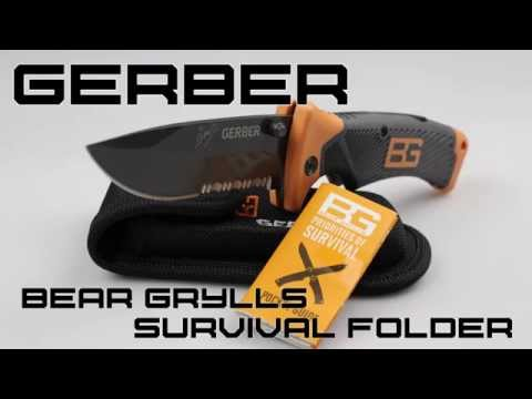 Gerber Bear Grylls Survival Folding Knife Review | KnifeHog