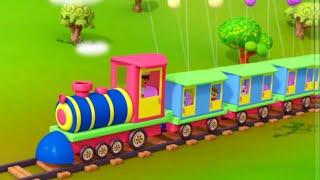 Chuk Chuk Karti Rail Chali Hindi Nursery Rhymes   Hindi Balgeet For Kids