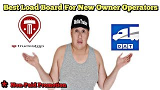 Best Load Boards For New Owner Operators