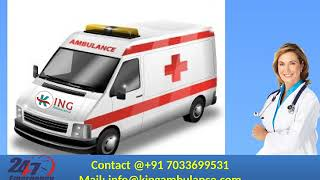 Get Life Support Road Ambulance in Bokaro and Dhanbad by King