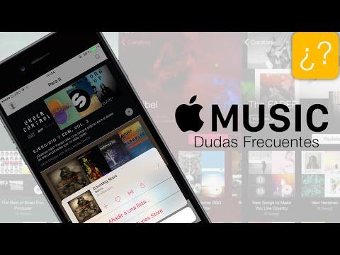 Apple Music, preguntas frecuentes