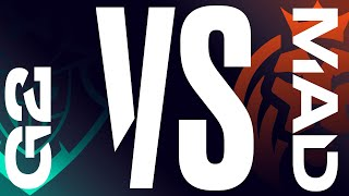 G2 vs. MAD - Week 1 Day 1 | LEC Spring Split | G2 Esports vs. MAD Lions (2020)