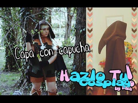CAPITULO 26 : Haz una capa con capucha fácil y en pocos pasos (HazloTu!Cosplay)