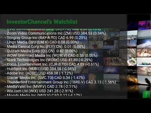 InvestorChannel's Media Watchlist Update for Friday, Janua ... Thumbnail
