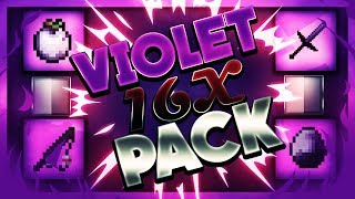 Minecraft PvP Texture Pack - Violet 16x Pack ( FPS ) - ?? [1.7/1.8] [ UHC/Kohi/SG ] ??