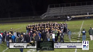 IHSAA Class A Football Sectional 42 Championship - Pioneer vs Lafayette Central Catholic