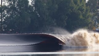 Wave pool built by Kelly Slater