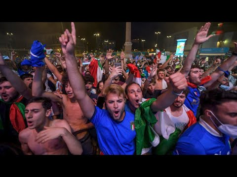 'It Came Rome': Italy fans celebrate the country's Euro 2020 win