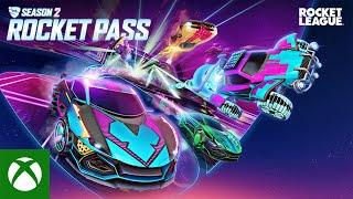Xbox Rocket League Season 2 Rocket Pass Trailer anuncio