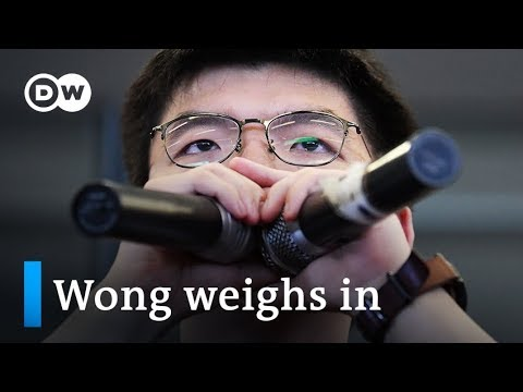 Hong Kong protest: Joshua Wong weighs in on Carrie Lam | DW News