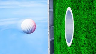 HOW TO SCORE IMPOSSIBLE VERTICAL SHOTS! (Golf It)