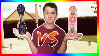 WaveBoard | VS | Skate Board !!!!