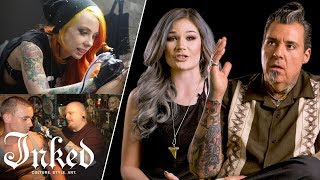 """Tattoo Artists Answer """"Who's Your Favorite Tattoo Artist?"""" 