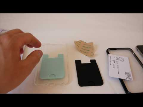 DIY  IPHONE CARD HOLDER --CARCASA CON TARJETERO
