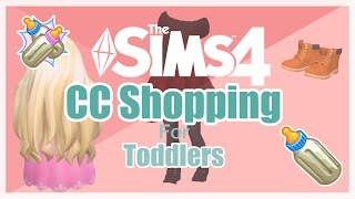 CC Shopping For Toddler | The Sims 4