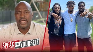 Lamar Jackson works out with Antonio Brown, Wiley talks Dak's payday | NFL | SPEAK FOR YOURSELF