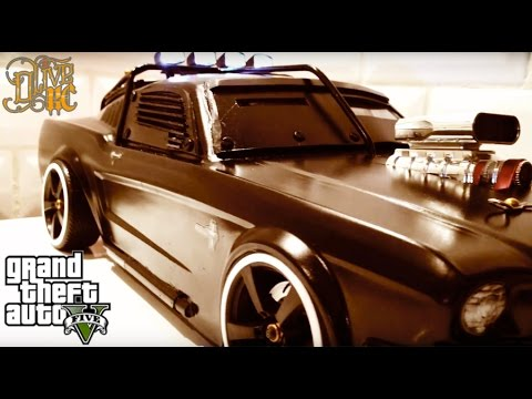 "RC DRIFT CAR - ARMORED MUSTANG Inspired By GTA 5 "" DUKE O' DEATH """