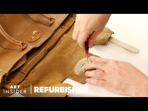 Restoring a Classic Mulberry Bag