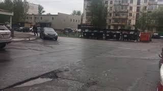 Ураганный ветер в Астане 27 мая | Kholo.pk