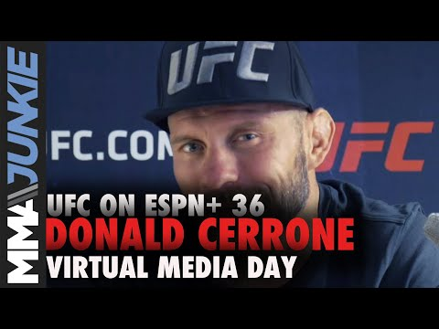 Refocused Donald Cerrone shuts down retirement talk | UFC on ESPN+ 36 pre-fight interview
